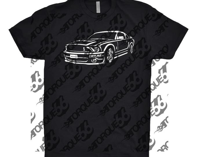 2007 Ford Mustang Shirt, Car Enthusiast, Car Art, Gift, Ford Mustang Shirt, 2007 Ford Shelby Gt500, Classic Car Shirt
