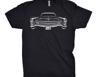 Classic Car Shirt of 1966 Cadillac Deville, Car Enthusiast, Cadillac Shirt, 1966 Cadillac Shirt, 1966 Cadillac Deville Shirt, Car Art