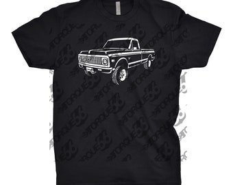 1972 Chevy K10 Shirt, Car Enthusiast, Gift, 1972 Chevy C10, 1971 1972 1973 Chevy K10, Chevy K10 Shirt, Chevy Truck Shirt