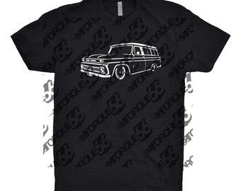 1964 Chevy Suburban, Car Enthusiast, Car Art, 1964 Chevy Suburban Shirt, Suburban Shirt, Classic Car Shirt, Chevy Suburban Shirt, Gift