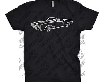 1969 Pontiac GTO Shirt, Car Enthusiast, Gift, Pontiac GTO Shirt, 1967 1968 1969 1970 Pontiac GTO , Car Art,