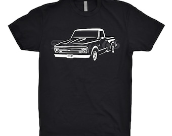 1967 Chevy C10 Shirt, Car Enthusiast, Classic Car Shirt, 1967 Chevy C10 Step Side, 1967 Chevy Truck Hoodie, 1963 1965 1966 1968 Chevy C10