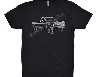 1976 Ford F100 Shirt, Car Enthusiast, F100 Shirt, 1976 Ford F100 Truck Shirt, Classic Car Shirt, Ford Shirt, 1976 Ford Truck Hoodie,