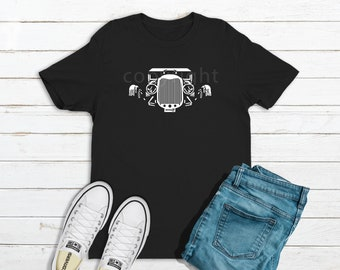 Hot Rod Shirt, Unisex, Car Enthusiast, Car Shirt, Classic Car Shirt, Rad Rod Shirt, Gift for Dad, Gear Head, Model A