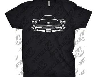 Classic Car Shirt of 1958 Cadillac Deville, Car Enthusiasts, Car Gift, Gift for Dad, 1958 Cadillac Eldorado, 1958 Cadillac Series 62 Shirt