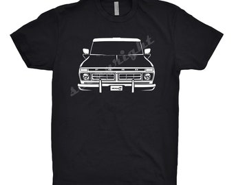 Classic Car Shirt of 1976 Ford F100, Car Enthusiast, Classic Car Shirt, 1975 1976 1977 1978 Ford F100 Shirt, 1976 Ford F100 Truck Shirt