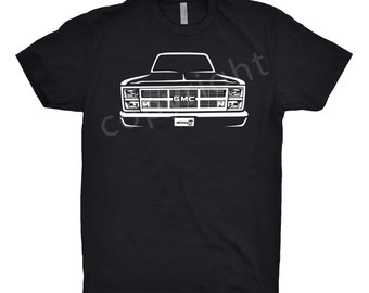 Classic Car Shirt of 1983 GMC Truck, Unisex, Car Enthusiast, 1980 1981 1982 1983 1984 GMC Shirt, Classic Car Shirt