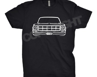 1977 GMC Shirt, Car Enthusiast, Gift, GMC Shirt, Hand Drawn, Car Art, 1976 1977 1978 1979 GMC Truck Shirt