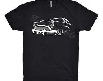 Classic Car Shirt of 1954 Buick Century Wagon, Car Enthusiast, Unisex, 1952 1953 1954 1955 Buick Shirt, Classic Car Shirt
