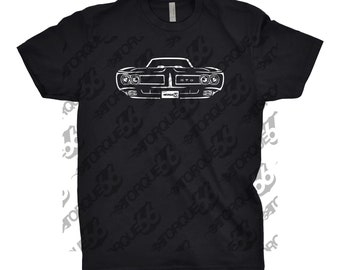 1969 Pontiac GTO Shirt, Car Enthusiast, Gift, Car Art, 1967 1968 1969 Pontiac GTO, 1969 Pontiac Shirt, Unisex