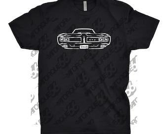 1969 Pontiac GTO Shirt, Car Enthusiast, Gift, Car Art, 1967 1968 1969 Pontiac GTO, 1969 Pontiac Shirt, Unisex