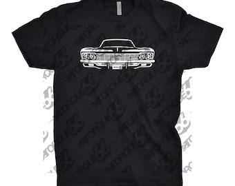 1966 Chevy Impala Shirt, Car Enthusiast, Gift, 1966 impala Shirt, 1963 1964 1965 1966 1967 Chevy Impala, Car Art