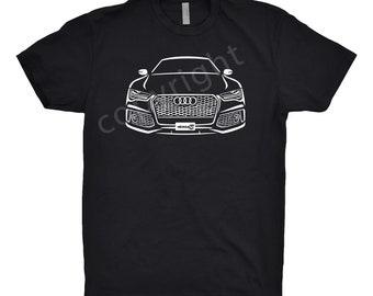 2019 Audi Shirt, Car Enthusiast, Audi Shirt, Audi A7 Shirt, Audi A6 Shirt, 2016 2017 2018 2019 Audi Shirt, Unisex Shirt, Car Gift