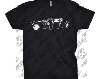Classic Car Shirt of Rat Rod, Unisex, Car Enthusiasts, Car Apparel, Car Shirt, Gift, Hot Rod Shirt