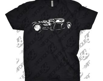 Classic Car Shirt of Rat Rod, Unisex, Car Enthusiasts, Car Apparel, Car Shirt, Gift, Hot Rod Shirt