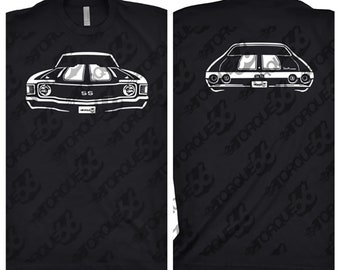 1972 Chevy Chevelle Shirt, Car Enthusiast, 1972 Chevelle Shirt, Gift, 1968 1969 1970 1971 Chevy Chevelle, 1972 Chevy Chevelle Front and Back