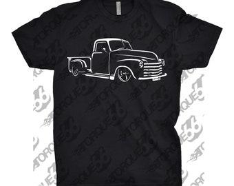 Classic Car Shirt of a 1947-1953 Chevy 3100 Truck, Gift, 1947 1948 1948 1950 1951 1952 1953 Chevy 3100 Shirt,