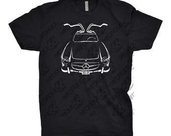 Classic Car Shirt 1956 Mercedes Benz 300 SL, Car Enthusiast, 1956 Benz Shirt, Gift, Mercedes Benz Shirt, Mercedes Benz 300 SL, Car Art