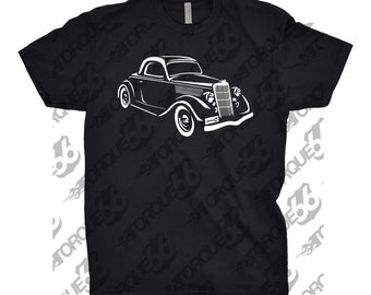 Classic Car of 1935 Ford Coupe, Unisex, Car Enthusiasts, Gift, Car T-Shirt, Car Apparel, Husband Gift, 1935 Ford Shirt, Classic Car Shirt