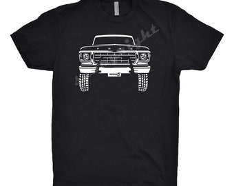 Classic Car T-Shirt -1978 Ford Bronco, Ford Truck, Ford Bronco Shirt, Car Enthusiast, Classic Car Shirt, 1978 Ford Bronco Hoodie, Gift,