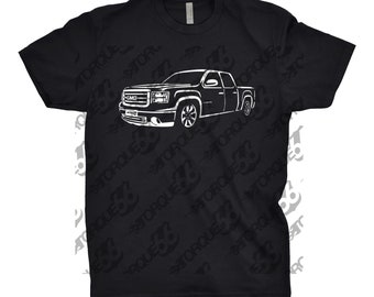 2008 GMC Shirt, Car Enthusiast, 2008 GMC Crew Cab, 2008 GMC Hoodie, 2008 2009 2010 gmc Shirt, Car Art, Gift