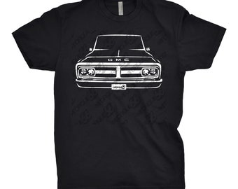 Classic Car Shirt of 1969 GMC Truck, Unisex, Car Enthusiasts, GMC Shirt, 1969 GMC Truck Shirt, 1969 1970 1971 1972 gmc Shirt