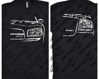 2006 Dodge Charger Shirt, Car Enthusiast, Car Art, Dodge Charger SRT Shirt, 2006 Dodge Charger SRT Shirt, Classic Car Shirt, Gift