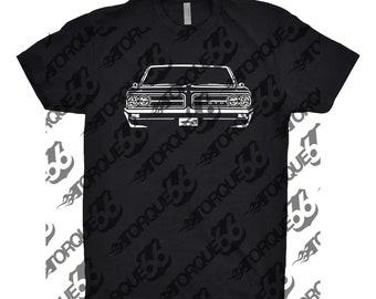 1964 Pontiac GTO Shirt, Car Enthusiast, Car Art, 1964 Pontiac Shirt, Classic Car Shirt, Gift, GTO Shirt
