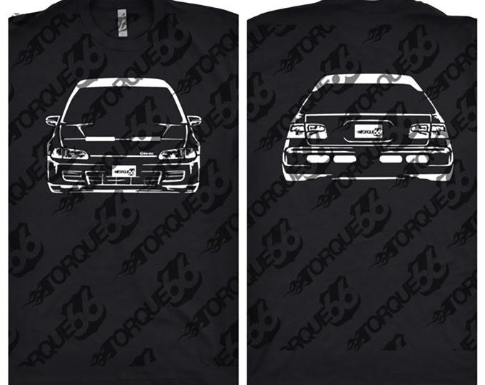 1995 Honda Civic Shirt, Car Enthusiast, Car Art, Honda Civic Shirt, Honda Shirt, Gift, Classic Car Shirt, 1995 Honda Civic