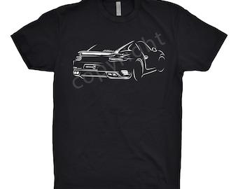 Porsche 911 Shirt, Unisex, Car Enthusiasts, Hand Drawn, Car apparel, Car T-Shirt, Classic Car shirt, Porsche Shirt, Porsche