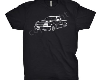 2006 Chevy Truck Shirt, 2006 Chevy Silverado Shirt, 2006 Chevy SS Shirt, 2004 2005 2006 2007 Chevy Silverado Shirt