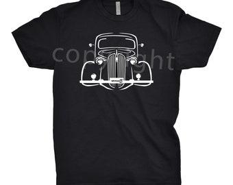 Classic Car Shirt of 1937 Plymouth, Car Enthusiast, 1937 Plymouth Shirt, Classic Car Shirt, 1936 1937 1938 Plymouth, Plymouth Shirt, Car Art