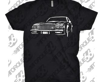 1987 Buick Shirt Regal Shirt, Car Enthusiast, 1987 Buick Grand National, 1985 1986 1987 1988 Buick, 1987 Buick GNX, Gift, Car Art