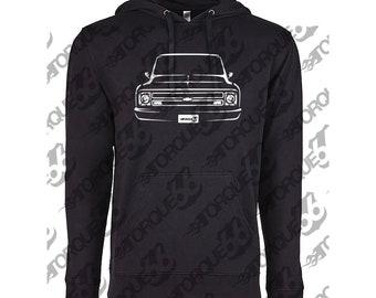 1968 Chevy C10 Hoodie, Car Enthusiast, Chevy C10 Hoodie, Chevy C10 Sweatshirt, 1966 1967 1968 1969 Chevy C10 Hoodie, Gift, Car Art