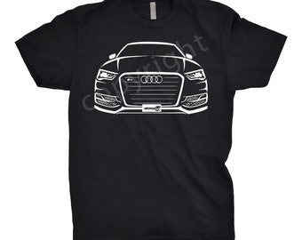 2015 Audi Shirt, Car Enthusiast, Classic Car Shirt, Audi Shirt, Audi S3 Shirt, Car Art, 2014 2015 2016 Audi Shirt, Car Apparel
