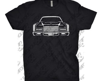 1973 Lincoln Continental Shirt, Car Enthusiast, Gift, Lincoln Continental Shirt, Unisex, Car Art