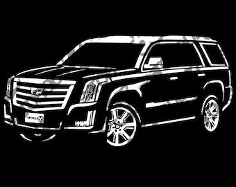 Cadillac Escalade SVG, 2016 Cadillac Escalade Svg, 2017 Cadillac Escalade, Cadillac Svg