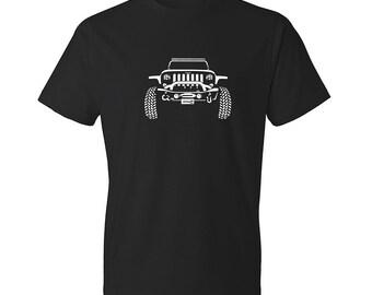 Jeep T-Shirt, Jeep Apparel, Jeep Wrangler Shirt, Unisex, Car Enthusiasts, Car Shirt, Wrangler Shirt, Jeep Shirt, Classic Car Shirt, Jeep