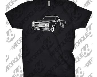 1986 Dodge Ram Shirt, Car Enthusiast, 1986 Dodge Ram, 1985 1986 1987 1988 Dodge Ram, Gift, Hand Drawn
