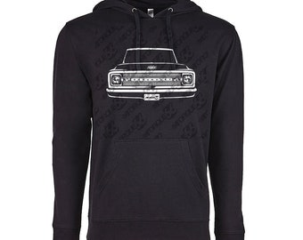 1969 Chevy C10 Hoodie, Car Enthusiast, 1969 1970 1971 Chevy C10 Sweatshirt, Classic Car Shirt, Car Gift, 1969 Chevy C10 Truck Hoodie
