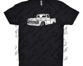 Chevy C10 Shirt, Car Enthusiast, Car Art, 1962 Chevy C10 Shirt, 1963 Chevy C10 Shirt, Vintage Chevy C10 Shirt, Gift, Classic Car Shirt