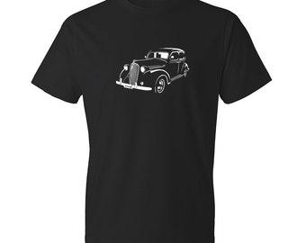 Classic Car Shirt of Plymouth, Unisex, Car Enthusiasts, Car Apparel, Car T-Shirt, Hand Drawn, Car Art, Plymouth Shirt, Gift, Car Guy, Cars