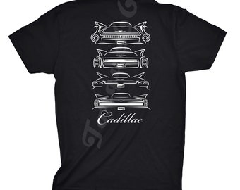 Classic Car Shirt of 1959_1962 Cadillac, Car Enthusiast, 1959 Cadillac, 1960 Cadillac, 1961 Cadillac, 1962 Cadillac, Cadillac Shirt