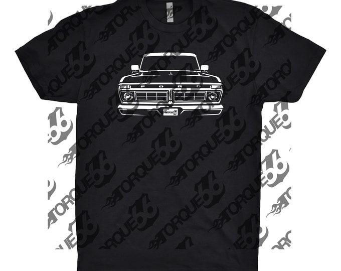 1977 Ford Truck, Car Enthusiast, Car Art, 1977 Ford Truck Shirt, 1977 Ford Shirt, 1977 Ford F100 Shirt, Classic Car Shirt, Gift