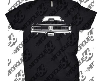 Classic Car Shirt of 1969 Dodge Charger, Unisex, Car Enthusiast, Muscle Car, Dodge Shirt, Classic Car Shirt, Gift, 1969, Gift, Car Guy