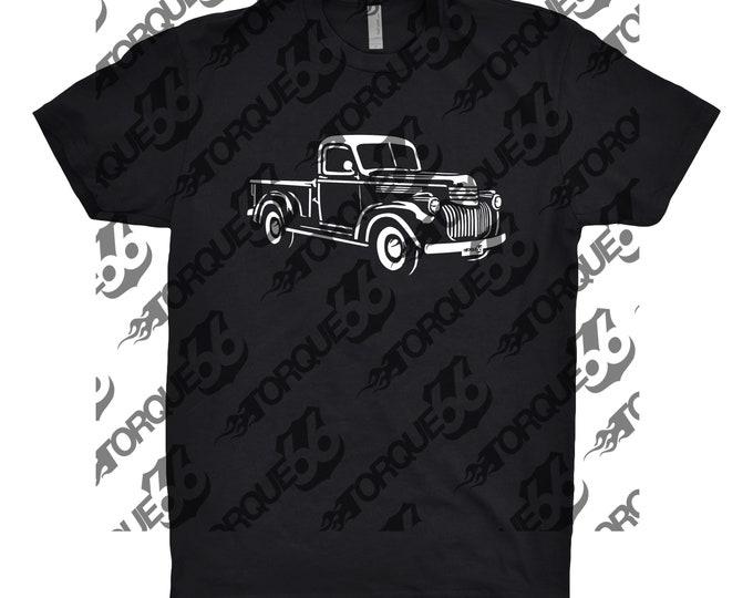 1941 Chevy Shirt, Car Enthusiast, 1941 Chevy Truck Shirt, Car Art, 1941 Chevy Truck, Gift, Classic Car Shirt