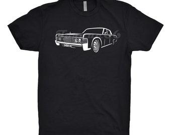1965 Lincoln Continental Shirt, Car Enthusiast, Lincoln Continental Shirt, 1964 1966 1967 Lincoln Continental Shirt, 1965 Lincoln Hoodie