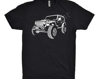 2018 Jeep Shirt, Car Enthusiast, Jeep Shirt, Jeep Wrangler Shirt, Jeep 4x4 Shirt, Wrangler Shirt, 2015 2016 2017 2019 Jeep Wrangler Shirt