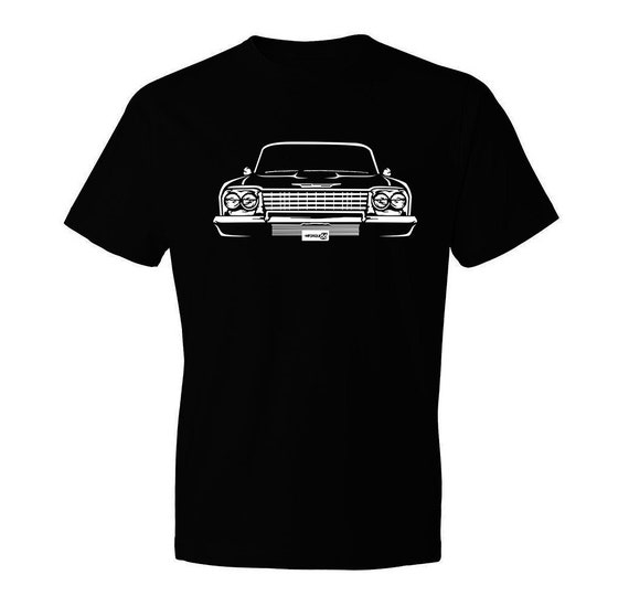 1963 Impala SS 63 Chevy Impala T-Shirt New 100/% Cotton Tee Gift for Dad