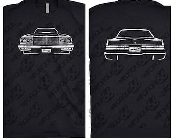 1987 Bucik Shirt, Car Enthusiast, Gift, Car Art, 1986 Buick, 1987 Buick Grand National